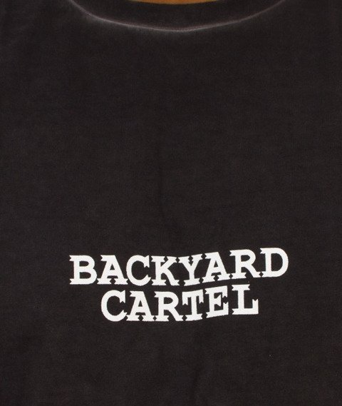 Backyard Cartel-Back 2 Back T-Shirt Czarny
