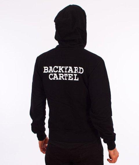 Backyard Cartel-Back Label Hoody Bluza Kaptur Czarna