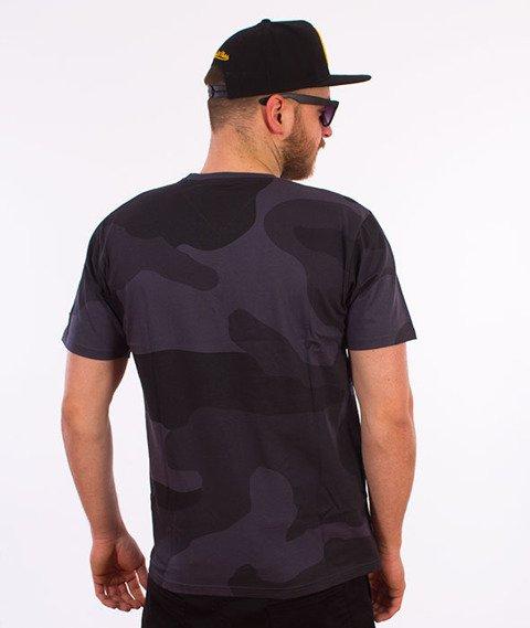 Backyard Cartel-Big Woodland T-Shirt Szare Camo