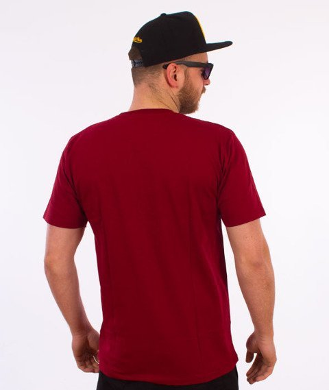 Backyard Cartel-Cartel T-Shirt Bordowy