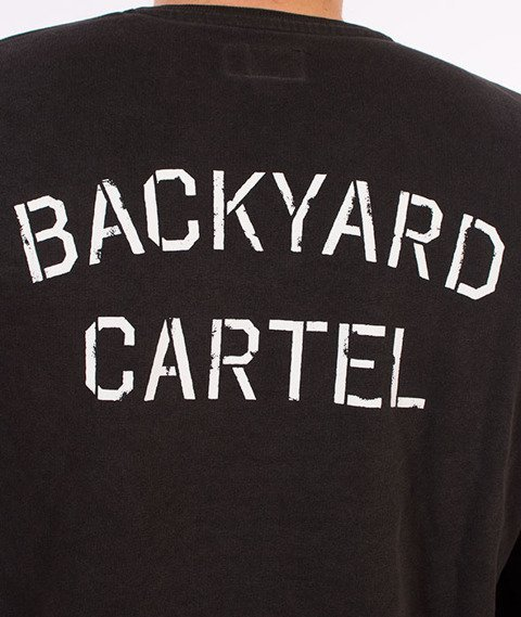 Backyard Cartel-Combat Bluza Szara