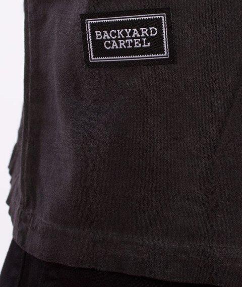 Backyard Cartel-Combat T-Shirt Szary