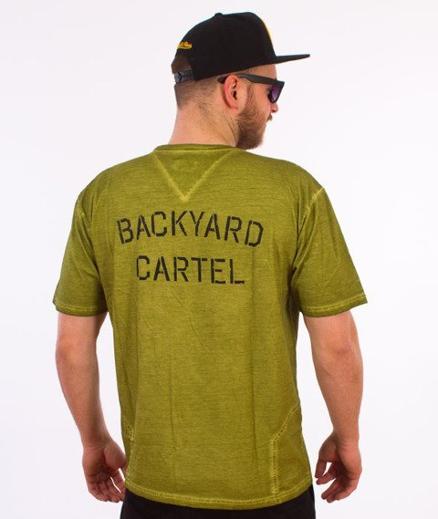 Backyard Cartel-Combat T-Shirt Zielony