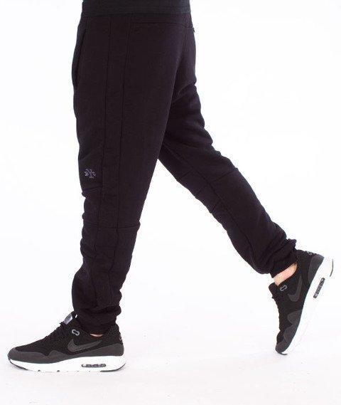 Backyard Cartel-Direction Sweatpants Spodnie Dresowe Czarne