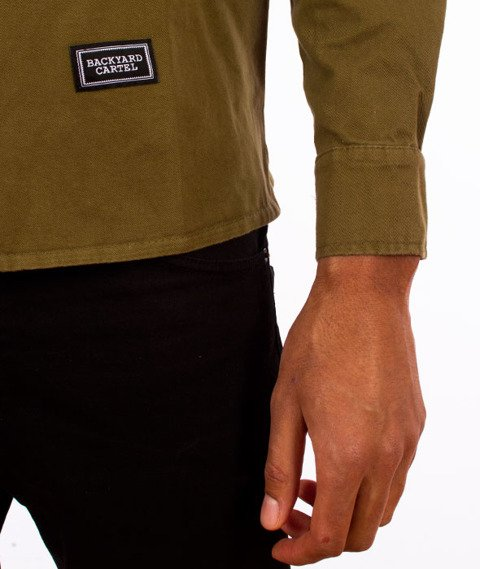 Backyard Cartel-Immortal Shirt Koszula Khaki