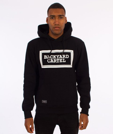 Backyard Cartel-Label Logo Hoody Bluza Kaptur Czarna