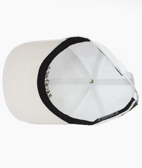 Backyard Cartel-Sport Cap Line Snapback Czapka Biała