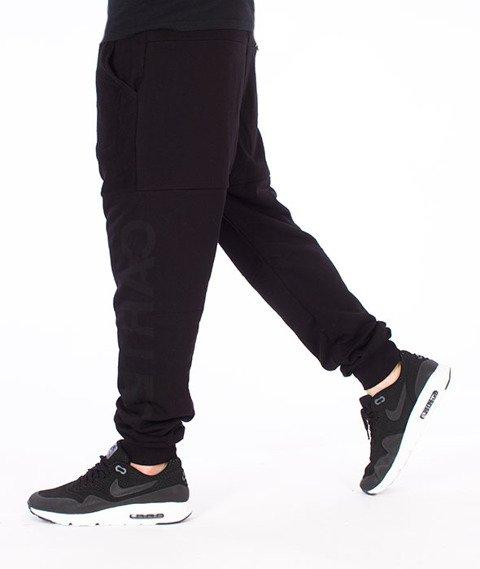 Backyard Cartel-Swish Sweatpants Spodnie Dresowe Czarne