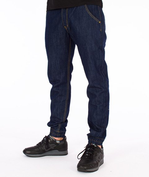 Backyard Cartel-Work Jogger Jeans Spodnie Rinse