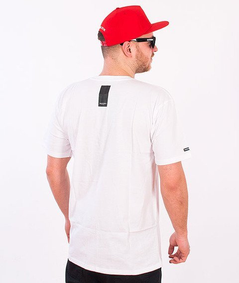 Biuro Ochrony Rapu-BOR Point T-shirt Biały