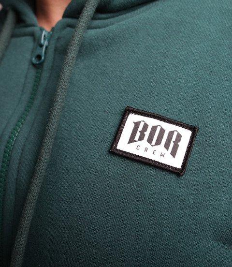 Biuro Ochrony Rapu-Bor New Small Bluza Kaptur Zip Zielony