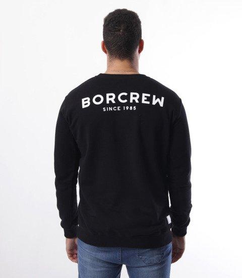 Biuro Ochrony Rapu-Classic BorCrew Bluza Czarna