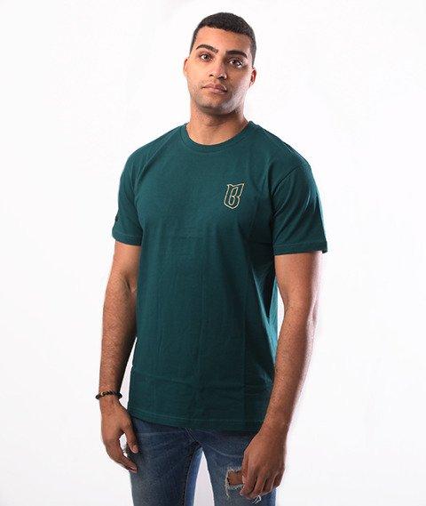 Biuro Ochrony Rapu-Classic BorCrew Outline T-shirt Zielony
