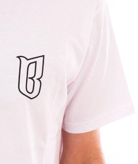 Biuro Ochrony Rapu-Classic Borcrew Outline T-shirt Biały