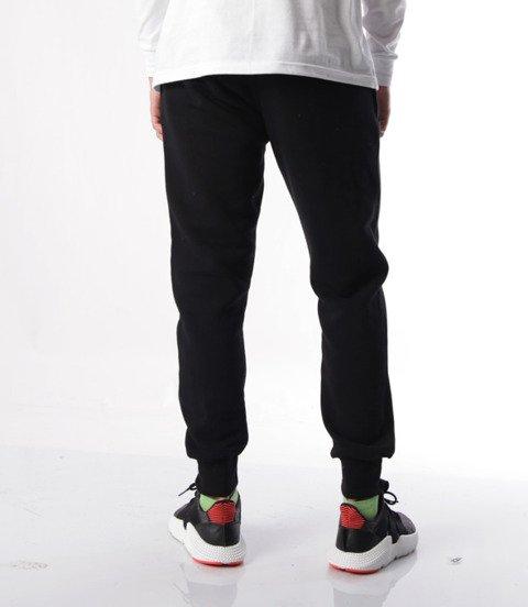 Biuro Ochrony Rapu-Classic Borcrew Spodnie Dresowe Czarne