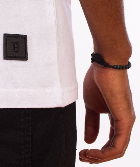 Biuro Ochrony Rapu-Classic Borcrew T-shirt Biały