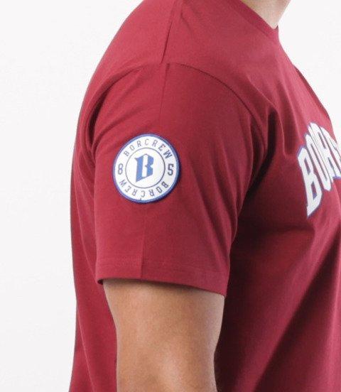 Biuro Ochrony Rapu-College T-shirt Bordo