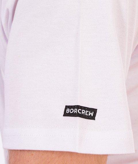 Biuro Ochrony Rapu-Glitch T-shirt Biały