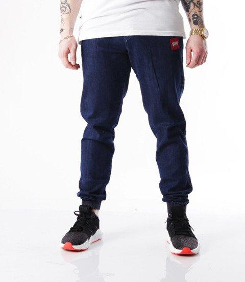 Biuro Ochrony Rapu-Jogger Fit Guma Strecz Spodnie New Kwadrat Medium