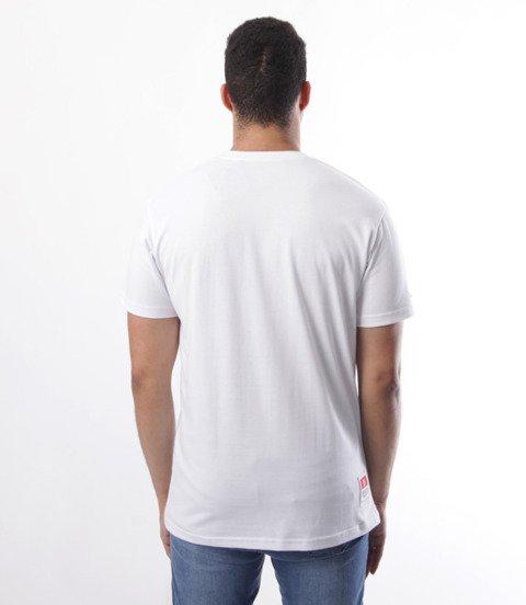 Biuro Ochrony Rapu-Metal T-shirt Biały/Czerowny