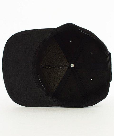 Biuro Ochrony Rapu-New Borcrew Snapback Czarny/Biały