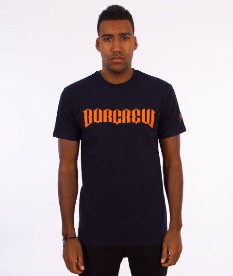 Biuro Ochrony Rapu-New Borcrew T-shirt Granat