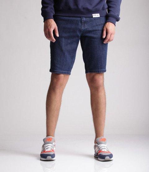 Biuro Ochrony Rapu-New Kwadrat Szorty Krótkie Spodnie Medium Jeans