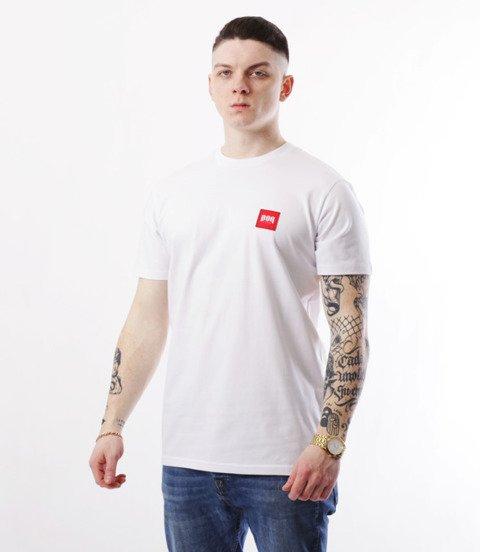 Biuro Ochrony Rapu-New Kwadrat T-shirt Biały