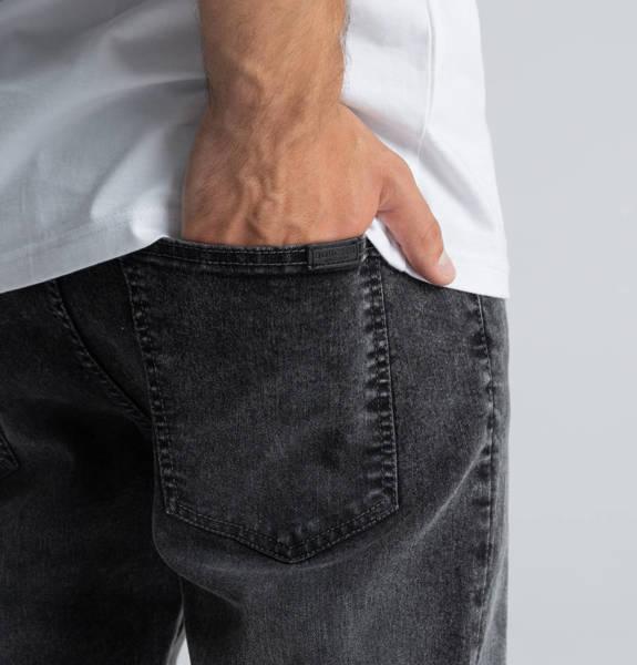 Biuro Ochrony Rapu SKIN Spodnie Jeans Szary przecierany