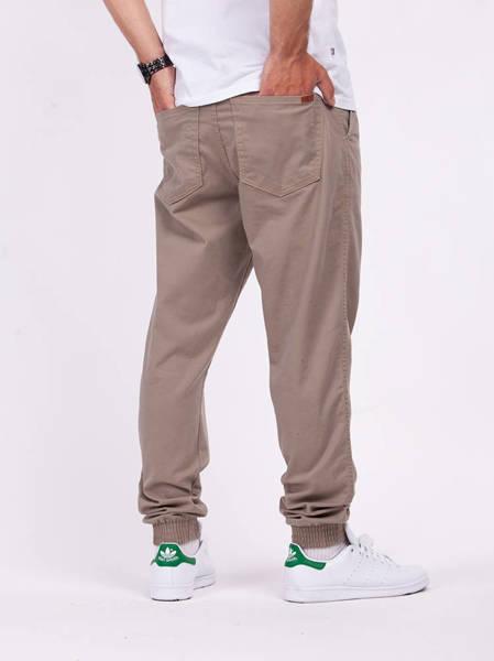 Biuro Ochrony Rapu SKIN Spodnie Jogger Guma Beżowy