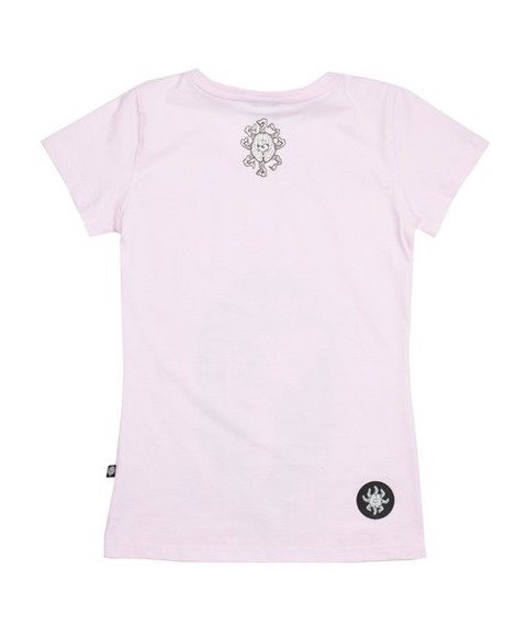 Brain Dead Familia GIRL T-shirt Damski Różowy