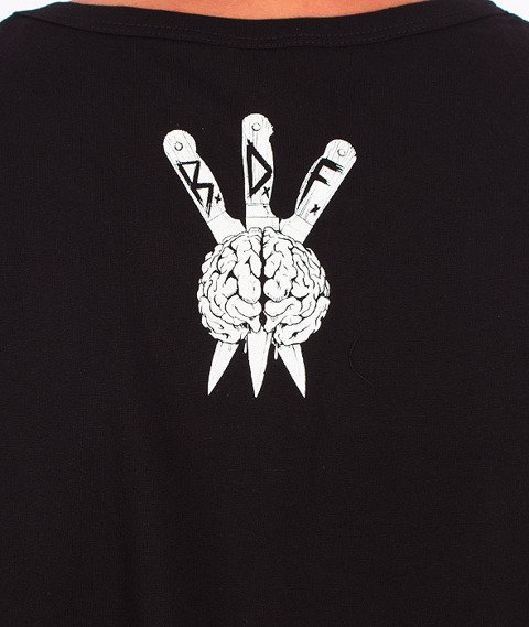 Brain Dead Familia-Occult Baseball Tank Top Czarny
