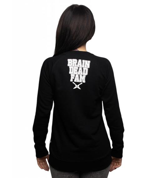 Brain Dead Familia-Toxic Bluza Damska Czarna