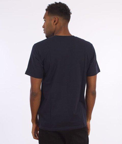 Carhartt-Bold Type T-Shirt Navy/Chianti