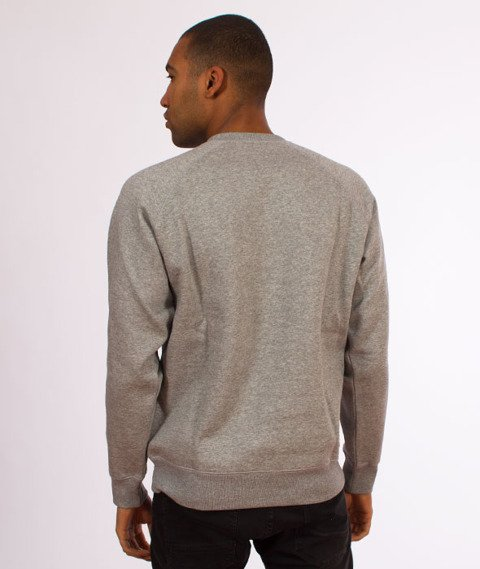 Carhartt-Chase Sweatshirt Crewneck Grey Heather/Gold