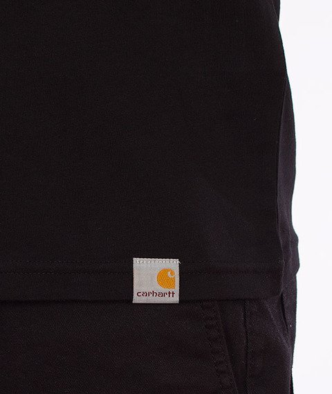 Carhartt-Pieces T-Shirt Black