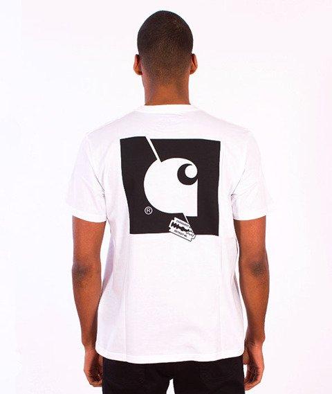 Carhartt-Razor Blade T-Shirt White/Multicolor