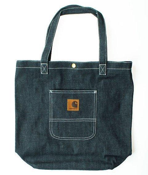 Carhartt-Simple Tote Bag Fowler Denim Blue