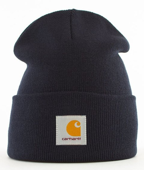 Carhartt WIP-Acrylic Watch Hat Navy