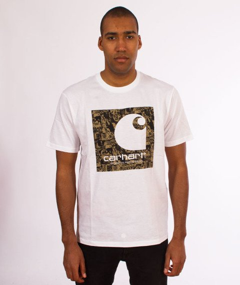 Carhartt WIP-C Collage T-Shirt  White