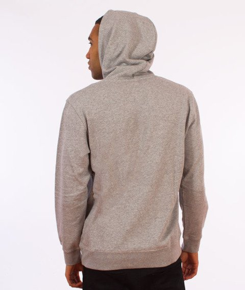 Carhartt WIP-Hooded College Sweat Bluza Kaptur Grey Heather/White