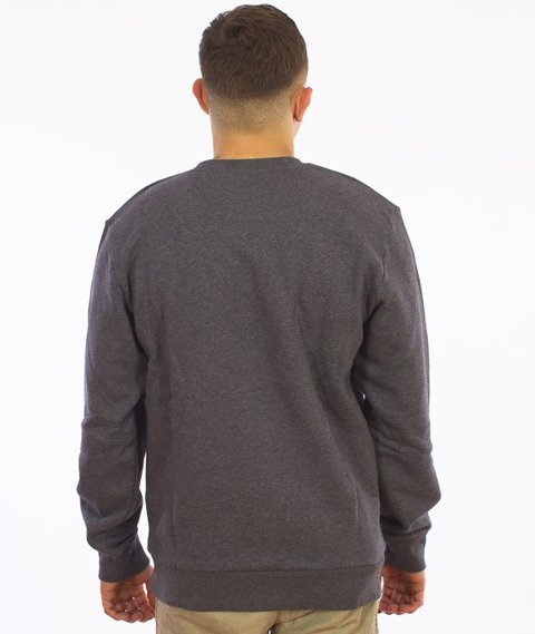 Carhartt-WIP Script Sweatshirt Cotton Dark Grey Heather/White