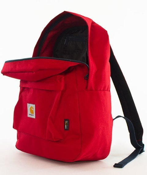 Carhartt WIP-Watch Backpack Dark Blast Red/Navy