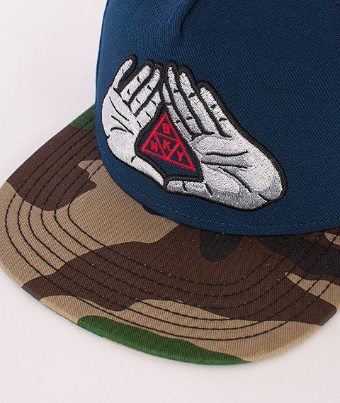 Cayler & Sons-BKNY Cap Navy/Woodland/Red