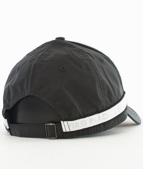 Cayler & Sons-BL First Division Curved Strapback Black