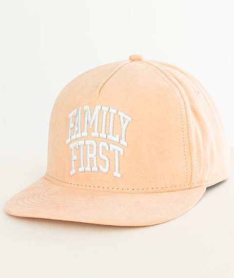 Cayler & Sons-BL Priority Snapback Light Peach/White