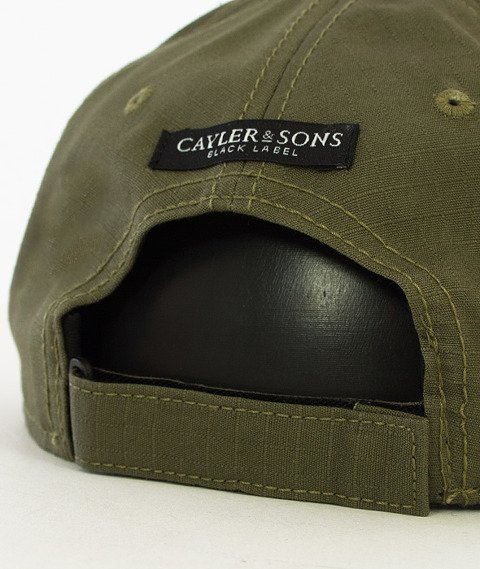 Cayler & Sons-Black Arch Curved Cap Czapka Olive/Black