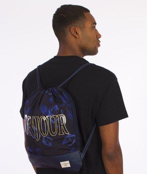 Cayler & Sons-Bonjour Gym Bag Navy/Gold