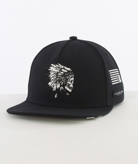 Cayler & Sons-Chief Cap Snapback Black/White