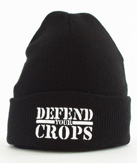 Cayler & Sons-Defend Your Crops Old School Beanie Czapka Zimowa Black/White